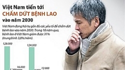 [Infographics] Việt Nam tiến tới chấm dứt bệnh lao vào năm 2030