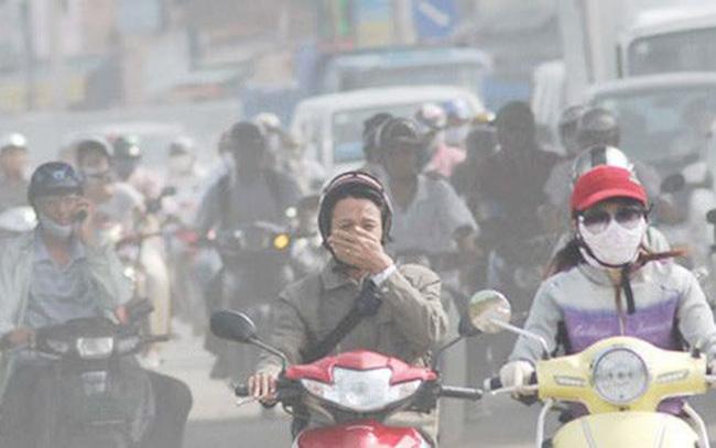 Ô nhiễm không khí tại Hà Nội và TP.HCM