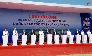 Khởi công cao tốc Mỹ Thuận - Cần Thơ theo hình thức đầu tư công