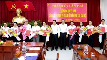 Cần Thơ: Luân chuyển điều động nhiều cán bộ chủ chốt sở ngành, quận huyện