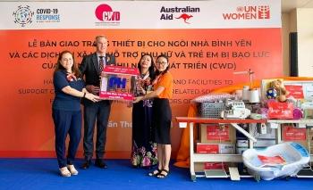 UN Women và Chính phủ Úc bàn giao trang thiết bị cho Nhà bình yên Cần Thơ