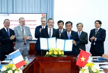 Viện Nghiên cứu phát triển (Pháp) hợp tác với Đại học Cần Thơ nghiên cứu biến đổi khí hậu