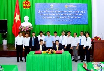 Cần Thơ ký kết thỏa thuận hợp tác chiến lược với Tập đoàn T&T