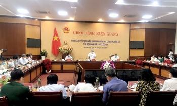 Phó Chủ tịch Uỷ ban Bầu cử Quốc gia làm việc với Ban Bầu cử tỉnh Kiên Giang