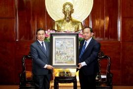 Cần Thơ tăng cường hợp tác với Lào trong nhiều lĩnh vực