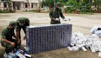 An Giang: Liên tiếp bắt giữ 2 vụ buôn lậu, thu giữ 6.000 gói thuốc lá nhập lậu