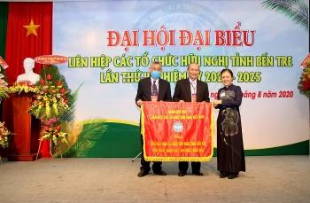 Ông Trương Minh Nhựt được bầu giữ chức Chủ tịch Liên hiệp các tổ chức hữu nghị tỉnh Bến Tre