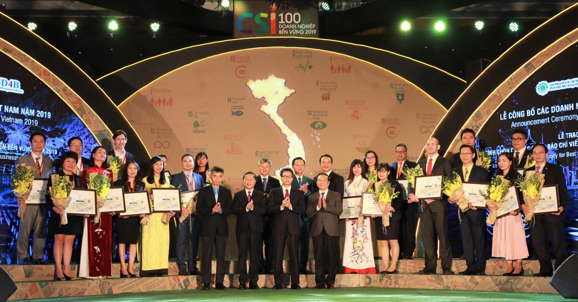 hdbank duoc vinh danh top 10 doanh nghiep ben vung nam 2019