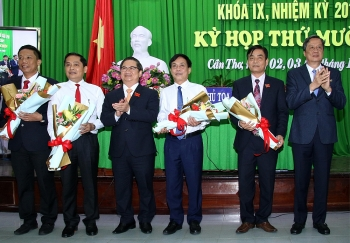 Cần Thơ bầu bổ sung 3 tân Phó Chủ tịch UBND thành phố