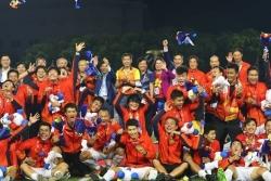 4 cột mốc đáng nhớ của đội tuyển bóng đá nam Việt Nam trong năm 2019