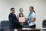 Hội Việt – Mỹ tiếp đoàn sinh viên trường Đại học American