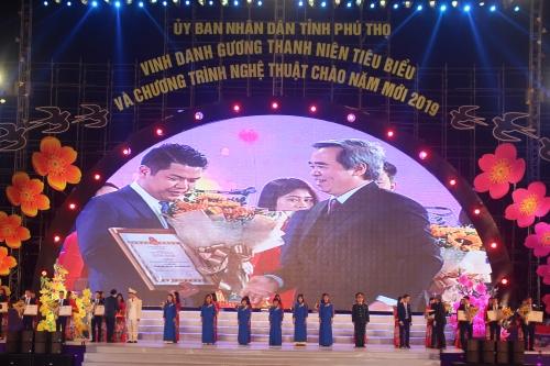 phu tho vinh danh 18 guong thanh nien tieu bieu nam 2018