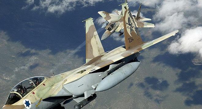 f 15 israel gap khan nguy khong phai do ten lua syria ban mat luc luong trong nhieu tuan