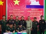 Bộ đội Biên phòng An Giang ký kết nghĩa với Lực lượng bảo vệ biên giới Campuchia đối diện