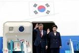 Sáng nay 23/3 diễn ra lễ đón chính thức Tổng thống Hàn Quốc