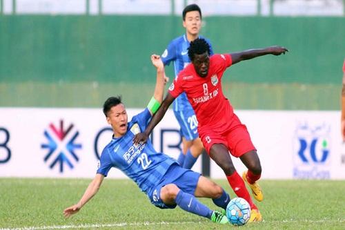 thua jiangsu suning bbinh duong bi loai khoi afc champions league