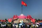 """Lễ Thượng cờ """"Thống nhất non sông"""" bên bờ Hiền Lương – Bến Hải"""