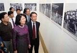 Chân thực Triển lãm ảnh 70 năm thi đua yêu nước giữa lòng Thủ đô