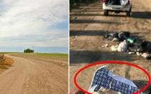 Bị vứt rác vào đất của mình, người nông dân trả đũa theo cách thủ phạm khó có thể ngờ tới