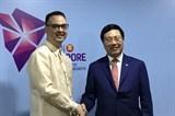 Bên lề Hội nghị Bộ trưởng Ngoại giao ASEAN Phó Thủ tướng tiếp xúc song phương Ấn Độ, Philipines, Brunei