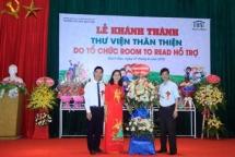 room to read xay hon 130 thu vien chao mung nam hoc moi