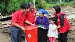 Hội Chữ thập đỏ Việt Nam phát động ủng hộ sau bão số 10