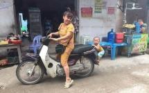 hanh trinh gan 400 km cung cha me cua phuot thu nhi gay bao cong dong mang
