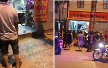video khoanh khac nam thanh nien cuop 3 khay vang tren pho hang bac