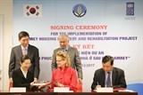 Hàn Quốc cùng UNDP hỗ trợ Việt Nam 1 triệu USD xây lại nhà cho người dân sau bão Damrey