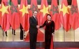 Chủ tịch Quốc hội Nguyễn Thị Kim Ngân hội đàm với Chủ tịch Hạ viện Ma rốc