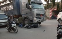 video biker thoat khoi luoi hai tu than khi nga o toc do 340 kmh