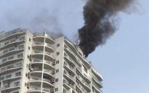 Hà Nội: Cháy lớn tại tầng thượng khu chung cư cao cấp Golden Westlake, người dân nghe tin hốt hoảng chạy về nhà