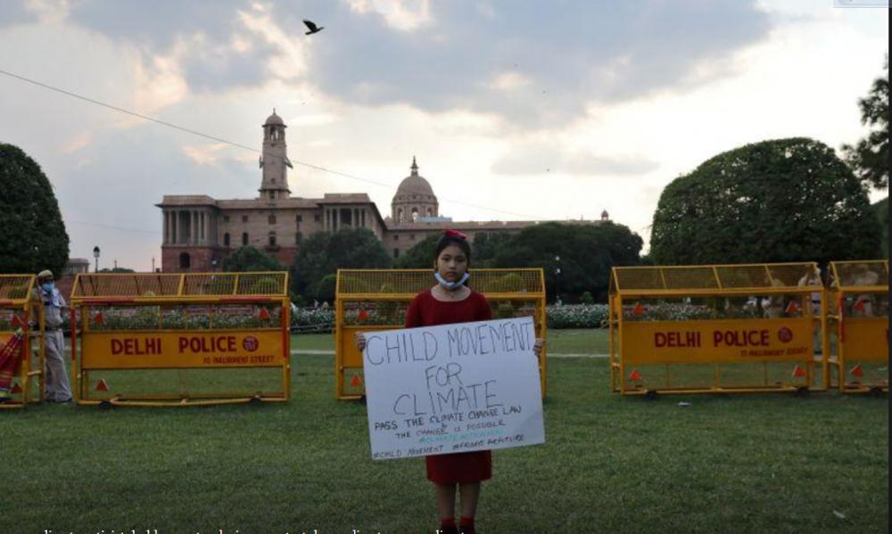 Nhà hoạt động 8 tuổi thúc giục Thủ tướng Ấn Độ thay đổi luật để bảo vệ môi trường