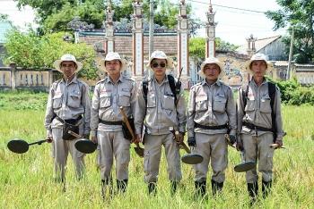 Gần 58 triệu m2 tại Quảng Trị được các tổ chức phi chính phủ nước ngoài hỗ trợ rà phá bom mìn