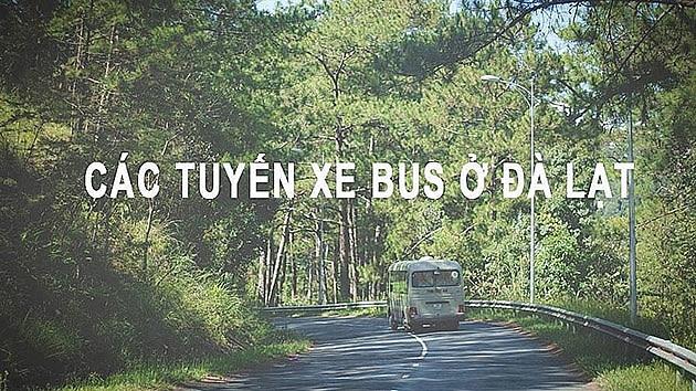 lo trinh cac tuyen xe bus o da lat nam 2019