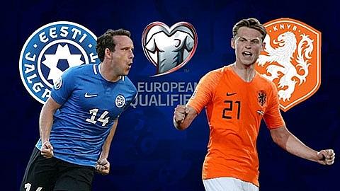 link xem truc tiep tran dau giua estonia vs ha lan vong loai euro 2020 luot tran thu 6