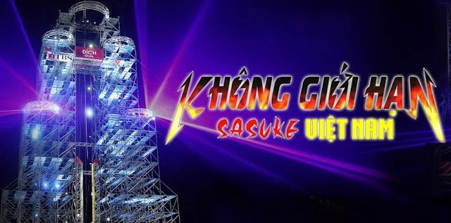 lich phat song chuong trinh khong gioi han sasuke viet nam tren vtv3