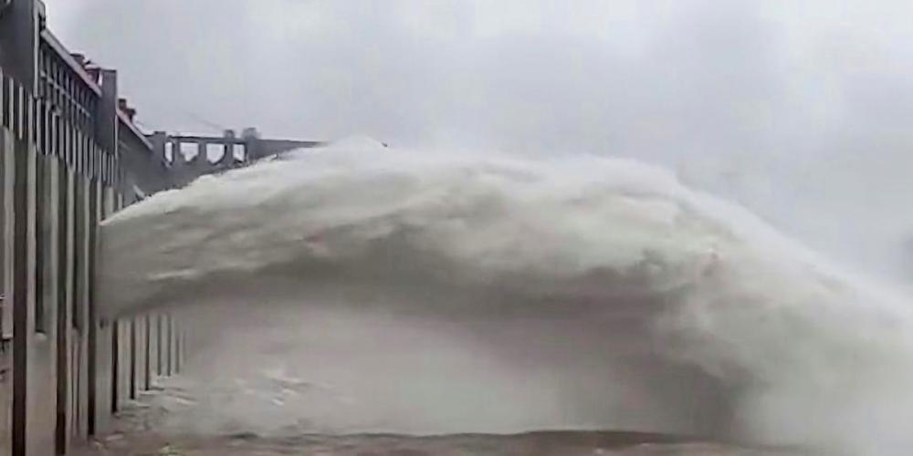 Trung Quốc cảnh báo siêu lũ tại khu vực đập Tam Hiệp
