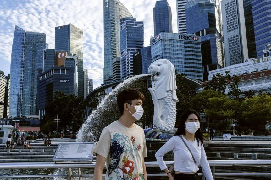 singapore them hon 1400 ca nhiem covid 19 moi