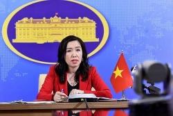 Việt Nam lên tiếng về lập trường của Mỹ đối với Biển Đông