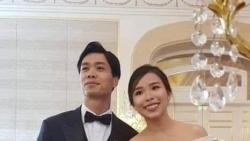 Loạt ảnh hiếm trong lễ đính hôn của Công Phượng - Viên Minh