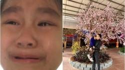 Lỡ làm hỏng đồ chơi, bé gái quay video vừa khóc vừa xin lỗi bố gây bão mạng xã hội