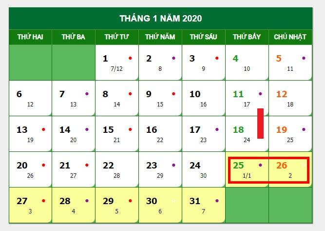 lich nghi tet canh ty 2020 co the khong ap dung ngay nghi hoan doi