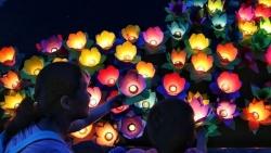 Mùa Vu Lan 2019: Người Hà Nội đi chùa từ sớm, người Sài Gòn thành tâm dự lễ thả hoa đăng