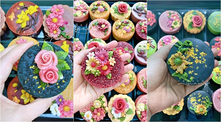 trung thu den som voi me banh hoa noi tu food blogger to hung giang