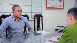 bat ngo danh tinh nghi can chon chat thai nguy hai tren nui soc son