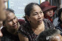 Người thân yêu cầu chủ tàu Pacific 01 tìm kiếm ngư dân mất tích