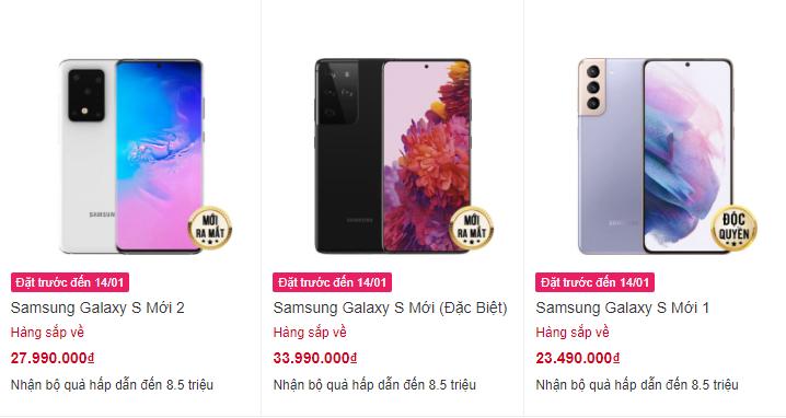 Samsung Galaxy S21 sẽ có giá 23 triệu đồng