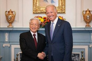Lãnh đạo Việt Nam gửi điện chúc mừng Tổng thống Joe Biden