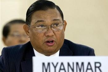 Ngoại trưởng Myanmar đến Thái Lan giải quyết khủng hoảng đảo chính